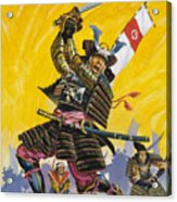 Samurai Warriors Acrylic Print