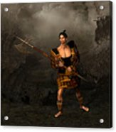 Samural Warrior Acrylic Print
