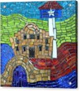 San Antonio  Acrylic Print by Ann Salas