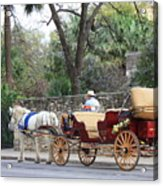 San Antonio Carriage Acrylic Print