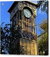 San Antonio Clock Acrylic Print