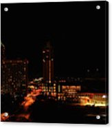 San Antonio Night Acrylic Print