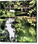 San Antonio River Scenic Acrylic Print