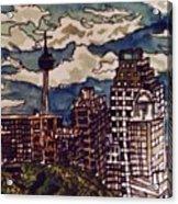 San Antonio Skyline Acrylic Print