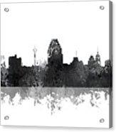 San Antonio Texas Skyline Acrylic Print