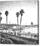 San Clemente Pier California Acrylic Print