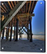 San Clemente Pier Acrylic Print by Kelly Wade