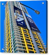 San Diego Apartment Tower Acrylic Print