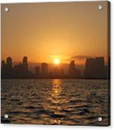 San Diego Bay Sunrise Acrylic Print