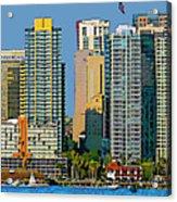San Diego Downtown Living - Bayside Acrylic Print