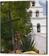 San Diego Mission Bells Acrylic Print
