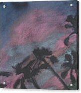 San Diego Palms Acrylic Print