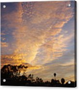 San Diego Sunsrise 4 7/12/15 Acrylic Print