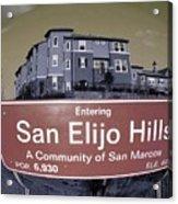 San Elijo Hills Acrylic Print