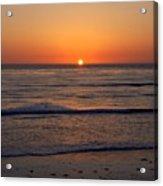 San Eljio Sunset Ca Acrylic Print