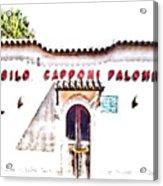 San Felice Circeo School Acrylic Print