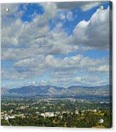 San Fernando Valley Panorama Acrylic Print