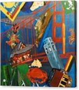 San Fran Acrylic Print