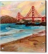 San Francisc Bridge Acrylic Print