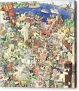 San Francisco - Where East Meets West Acrylic Print