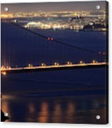 San Francisco At Night Acrylic Print