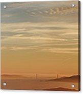 San Francisco Bay Area Panorama Acrylic Print