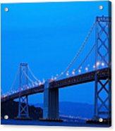 San Francisco Bay Bridge Acrylic Print