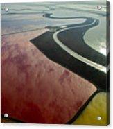 San Francisco Bay Salt Flats 4 Acrylic Print