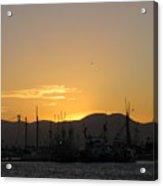 San Francisco Bay Sunset Acrylic Print
