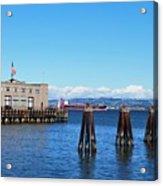 San Francisco Bay Trail View Acrylic Print