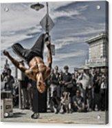 San Francisco Breakdancer Acrylic Print