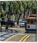 San Francisco, Cable Cars -1 Acrylic Print
