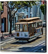 San Francisco, Cable Cars -2 Acrylic Print