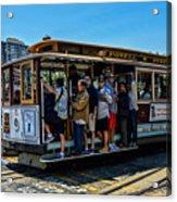 San Francisco, Cable Cars -3 Acrylic Print