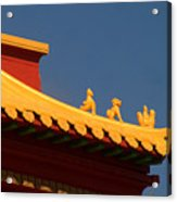 San Francisco California China Town Acrylic Print