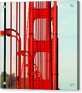 San Francisco Golden Gate Bridge Symphony In California Acrylic Print