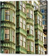 San Francisco Color Acrylic Print