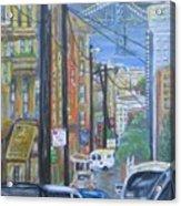 San Francisco Commute Acrylic Print