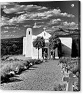 San Francisco De Assisi, Golden, New Mexico, March 11, 2017 Acrylic Print