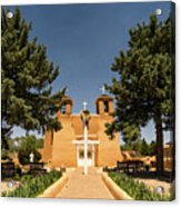 San Francisco De Assisi Mission Church Taos New Mexico 2 Acrylic Print