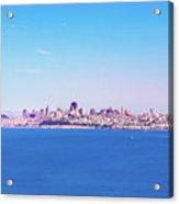 San Francisco Downtown Skyline Acrylic Print