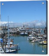 San Francisco Fishing Fleet Acrylic Print