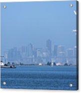 San Francisco From Alameda Acrylic Print