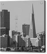 San Francisco From Treasure Island Acrylic Print