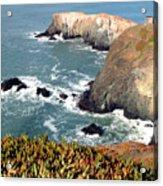 Marin Headlands Bunker Acrylic Print