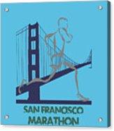 San Francisco Marathon2 Acrylic Print