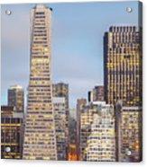 San Francisco Skyline 2 Acrylic Print