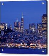 San Francisco Skyline At Dusk Acrylic Print