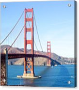 San Francisco's Golden Gate Bridge Acrylic Print