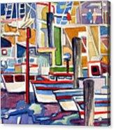 San Fransico Marina Acrylic Print
